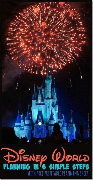 Disney World Planning in 6 simple steps