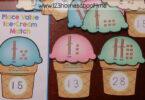 Place Value Ice Cream Match
