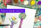 Pointillism Art Project for Kids