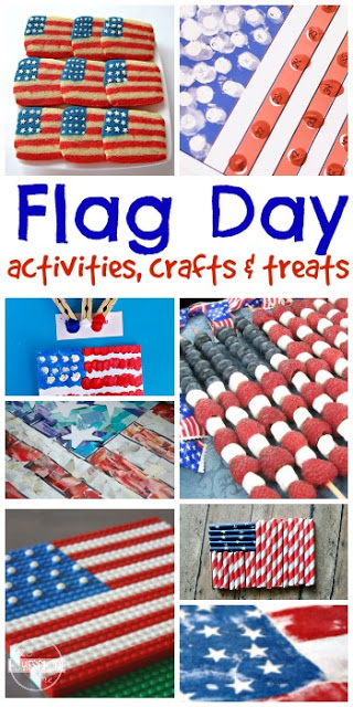 Flag Day Kid Activities and crafts for kids to celebrate on June 14th. These are great summer activities to add to your summer bucket list.