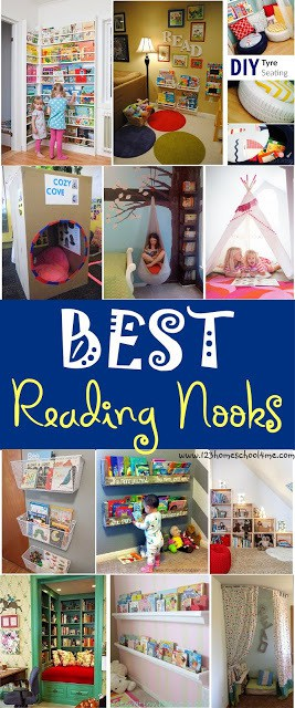 Do your children have a special place to read, a location full of pillows, good books, and great lighting? If not, why not find out how creating a reading nook for your children will help encourage of love of reading with your toddler, preschool, pre k, kindergarten, first grade, 2nd grade, and 3rd grade student.