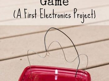 Introducing kids to electricity can be intimidating, but it doesn't have to be. If you're looking for a fun, simple way to introduce your elementary agechild to electricity and circuits, this Steady Hand Gameis an EASY Physics experiment for kids. Whether you are a parent, teacher, or homeschooler, you will love this science project for kindergartners, first grade, 2nd grade, 3rd grade, 4th grade, 5th grade, and 6th grade children.