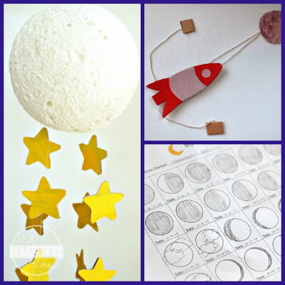 24 Moon Crafts And Activities For Kids 123 Homeschool 4 Me