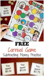 carnival subtracting money games