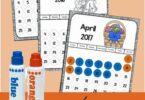 Bingo Marker Calendars