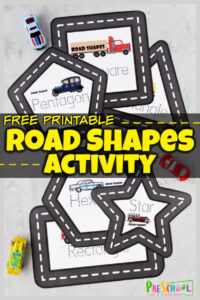 Tracing shapes with cars