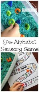 Beginning Sounds Sensory Bin