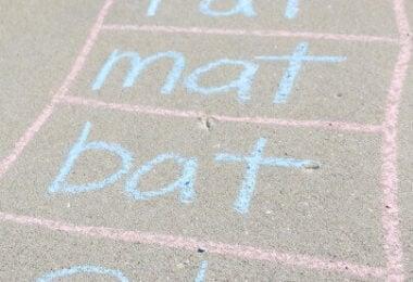 Sidewalk-Word-Families
