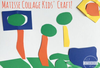 Matisse Collage Craft for Kids