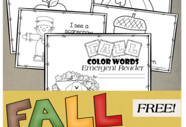 Fall-Color-Words-Emergent-Reader