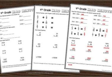 4th-Grade-Math-Worksheets