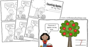 Counting-Apples-Mini-Book