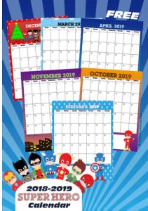 https://www.123homeschool4me.com/free-super-hero-printable-calendar_23/