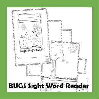 bug sight word readers