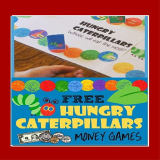 hungry caterpillar money games