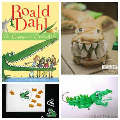 roald dahl day enormous crocodile crafts
