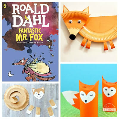 roald dahl day fantastic mr fox crafts