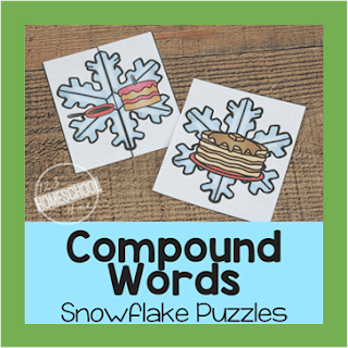 snowflake compound word puzzles