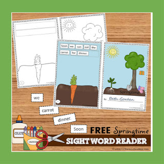 spring sight word reader