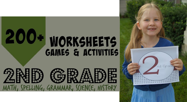 worksheets for kids in 2nd grade