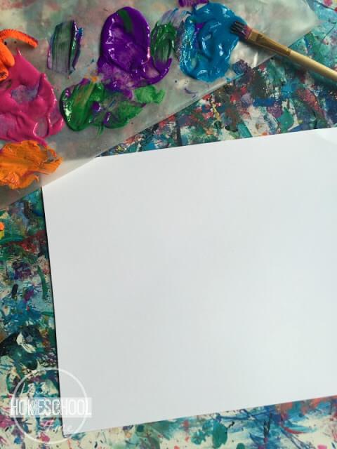 Alphabet Paint Project