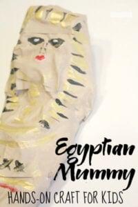 mummy activity for kids