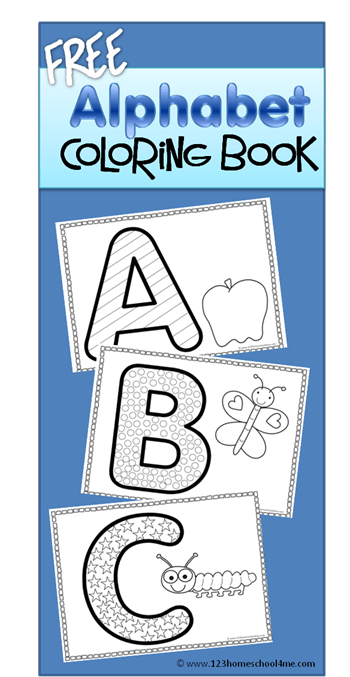 50 Alphabet Coloring Pages Your Toddler Will Love | 677x350