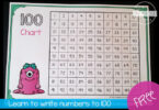 FREE Hundreds Chart Worksheets