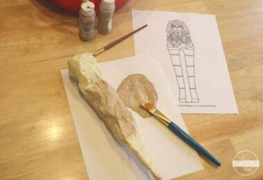Egyptian Mummy Craft for Kids