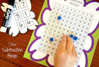 FREE-Subtraction-Bingo-Math-Game