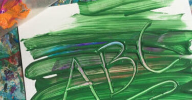 Alphabet Painting Project