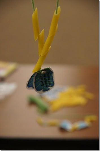pasta bible craft