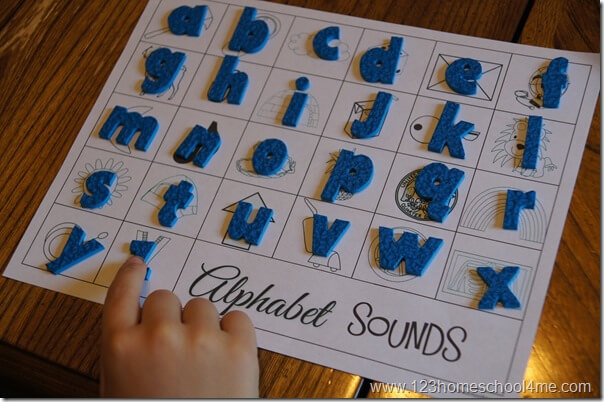 practice alphabet letter sounds upper and lower case
