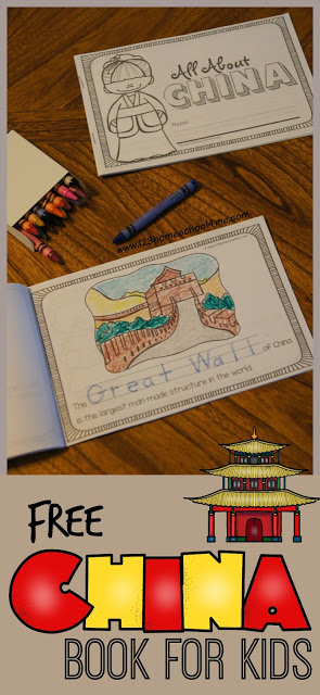 Learn about China for kids with this super cute, free printable all about china book filled with interesting China Facts for Kids. These China printables helps kids from kindergarten, first grade, 2nd grade, 3rd grade, 4th grade, 5th grade, and 6th graders learn about the country with the largest population of any country in the world, the Great Wall of China, Terra Cotta Warriors, and more!