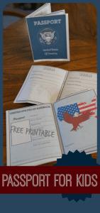 Free printable passports for kids