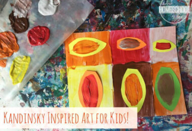 Kadinsky Inspired Fall Art Project for Kids