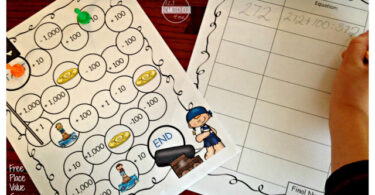 Pirate-Place-Value-Game