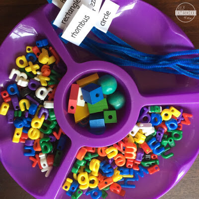 shape activity for kids