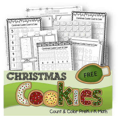 Christmas Kindergarten Worksheet