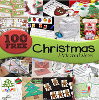100 FREE Christmas Printables for Kids