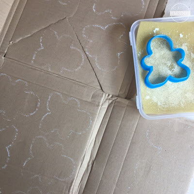Cookie Cutter Activity for kids