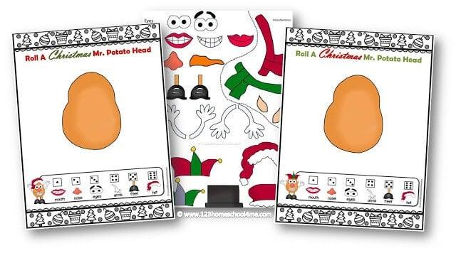 Mr Potato Head Game