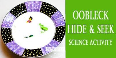 Oobleck Science Activity Horizontal