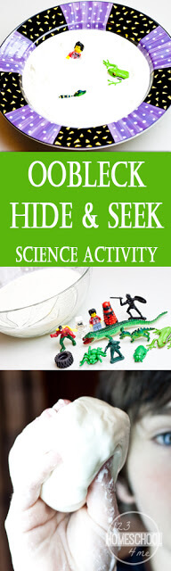 Oobleck Science Activity - what a fun science project for kids from preschool, kindergarten, first grade, 2nd grade, 3rd grade and more.