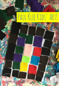 paul klee for kids art project