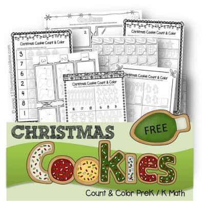 cookie worksheets