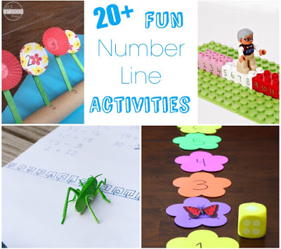 creative number line games for kids