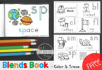 Color & Trace BLENDS Book