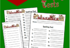 December Spelling Tests