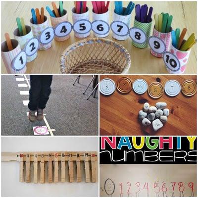 kindergarten, first grade, 2nd grade math activities